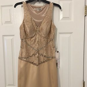 Sue Wong Embellished Cocktail Dress NWT size 8